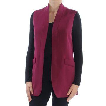 ANNE KLEIN Womens Purple Sleeveless Vest Top Size: 10
