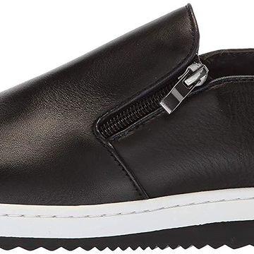 English Laundry Mens Gunton Leather Closed Toe Slip On Shoes