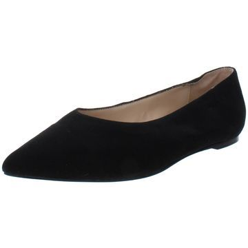 Adrienne Vittadini Womens Fraze Suede Pointed Toe Flats