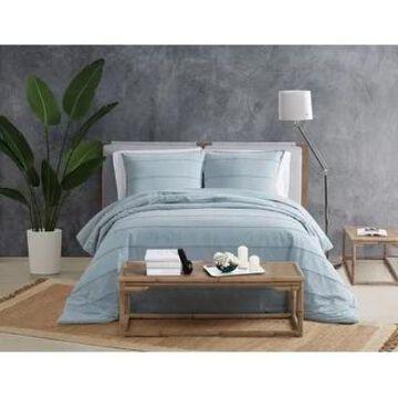 Sean John Tufted Stonewash 3 Piece Comforter Set (Full - Queen)