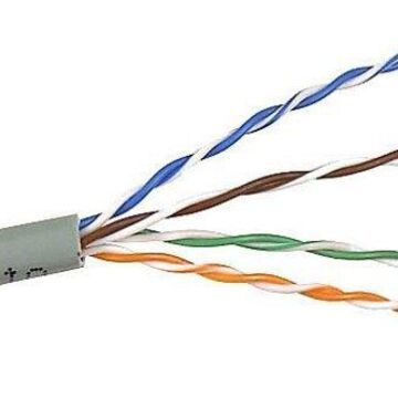 Belkin A7l704-1000-grn 1000ft Bulk Cat6 Gigabit Green Cabl Pvc Patch Solid 24awg No Returns
