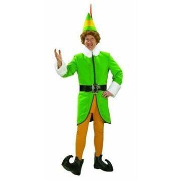 BuySeasons Men's Buddy The Elf Deluxe Adult Costume