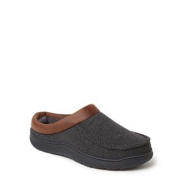 Dearfoams Cozy Comfort Two Piece Clog Slipper (Mens)