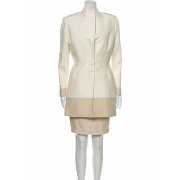 Vintage Silk Skirt Suit