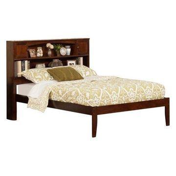 Atlantic Furniture Newport Full Platform Bed, Walnut