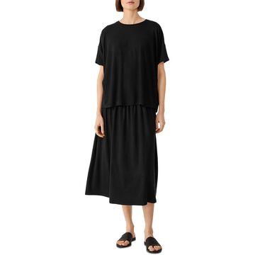 Eileen Fisher Relaxed Crewneck T-Shirt