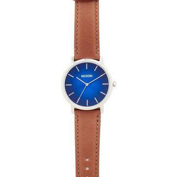 Nixon Men's The Porter Leather Unisex Watch A10582694
