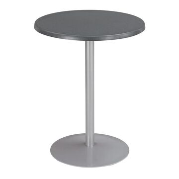 Safco Entourage Wood 24-inch Round Tabletop (Anthracite)