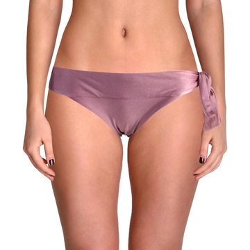 Becca Womens Ballerina Hipster Side Tie Swim Bottom Separates