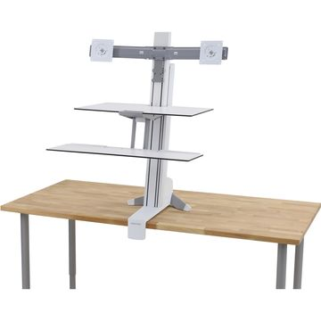 Ergotron WorkFit-S Display Stand - Up to 24