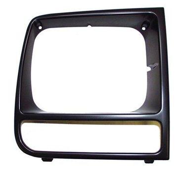Crown Automotive 55055136 CAS55055136 RIGHT HEADLAMP BEZEL (BLACK/BLACK)