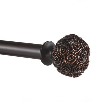 Exclusive Home Peony 1-in. Curtain Rod