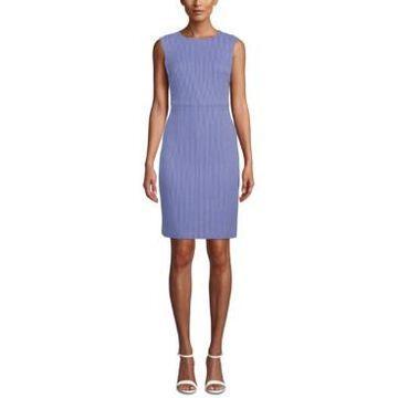 Anne Klein Striped Sheath Dress