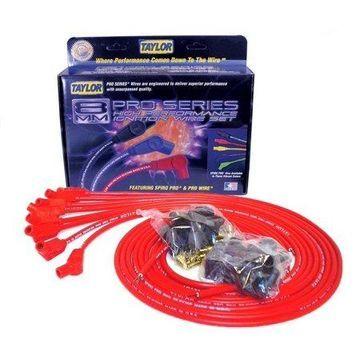 Taylor Wire / Vertex 73253 TAY73253 8MM SPIRO-PRO UNIV 8 CYL 135 RED