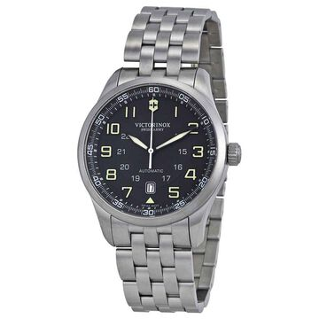 Victorinox Swiss Army AirBoss Automatic Black Dial Men's Watch 241508