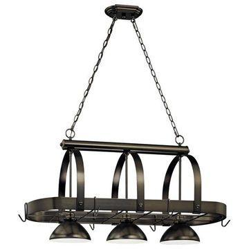 Volume Lighting V3023 3 Light Pendant