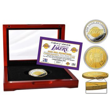 Highland Mint Los Angeles Lakers 2020 NBA Finals Champions Two-Tone Coin