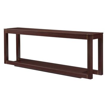 Stanley Panavista Floating Parsons Console Table in Garnet 704-45-05
