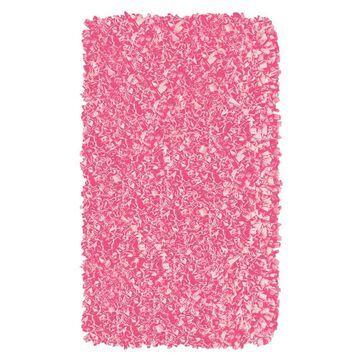 The Rug Market Shaggy Raggy 2 x 3 Shag Bubblegum Solid Area Rug in Pink   02220A
