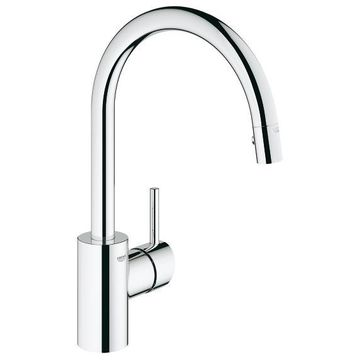 GROHE Concetto Chrome Single Lever Kitchen Faucet