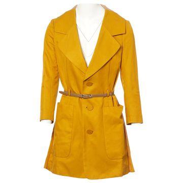 Undercover Yellow Silk Jackets