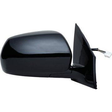 68059N - Fit System Passenger Side Mirror for 05-07 Nissan Murano, w/ memory, black, PTM, foldaway, Heated Power