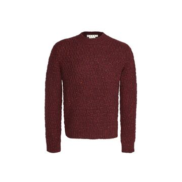 Marni Chunky Knit Crew Neck Sweater
