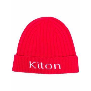 Kiton Hats Red