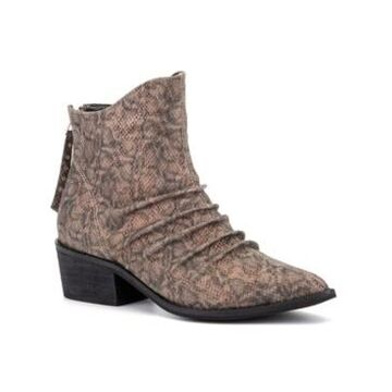 Olivia Miller 'Take A Bow' Ankle Boots Women's Shoes