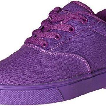 Heelys Kid's Launch Sneaker, Purple Solid, 5 M US Big Kid