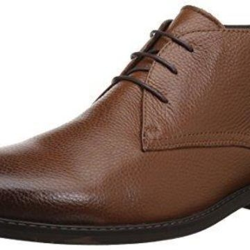 English Laundry Men's Heyes Chukka Boot, Cognac, 10 M US