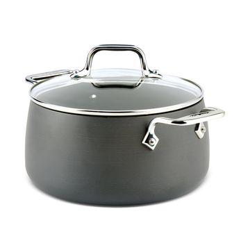 Hard Anodized 4-Qt. Soup Pot with Lid