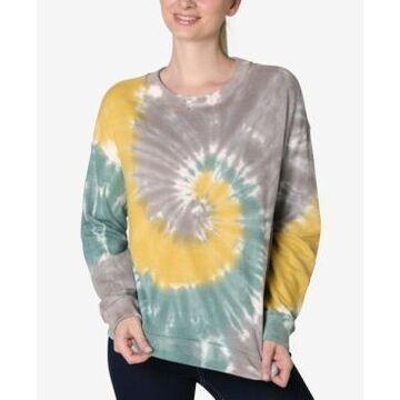 Ultra Flirt Juniors' Tie-Dyed Sweatshirt
