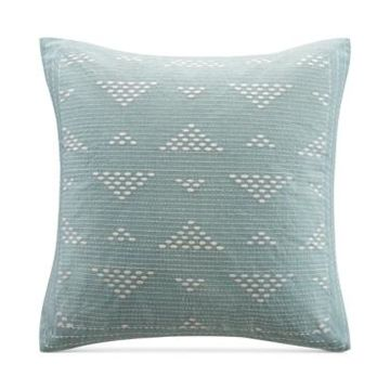"""Ink+Ivy Cario Embroidered 18"""" Square Decorative Pillow Bedding"""