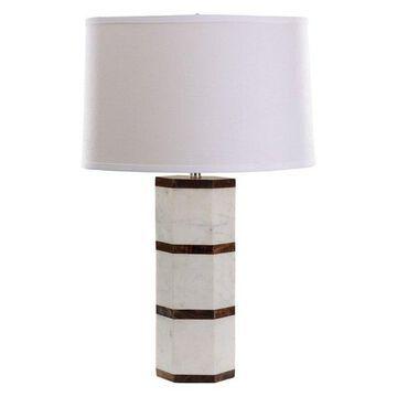 Dimond Lighting 1-Light Hexagon Table Lamp