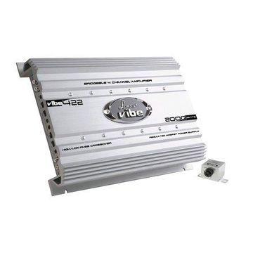 LANZAR VIBE422 - Vibe 2000 Watt 4 Channel Mosfet Amplifier