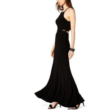 Xscape Womens Halter Formal Evening Dress