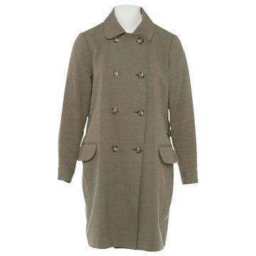 Apc \N Brown Cotton Coats