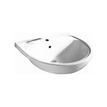 American Standard 9960.908 Mezzo Drop in Bathroom Sink, White