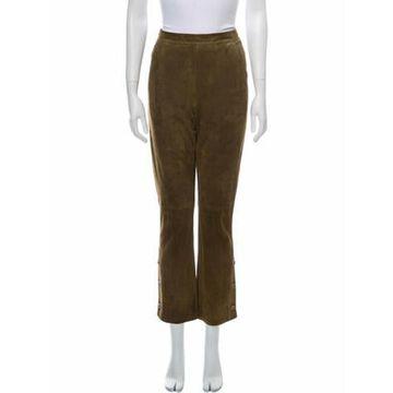 Vintage Straight Leg Pants Brown