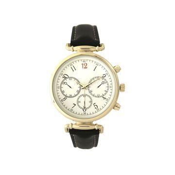 Olivia Pratt Womens Black Strap Watch-16557