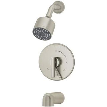 Symmons S-3502-CYL-B-1.5-TRM Dia Tub and Shower Trim Package