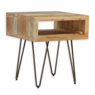 INK+IVY Phelps End Table in Natural