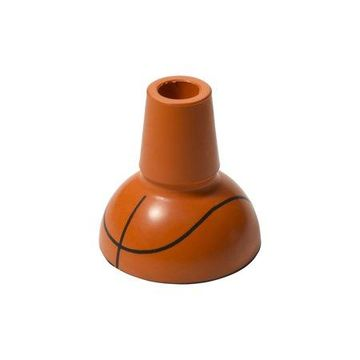 Drive Medical Sports Style Cane Tip, Basketball