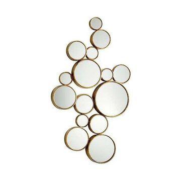 Cyan Design Bubbles Mirror