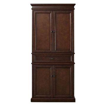Pemberly Row Pantry Cabinet, Mahagony