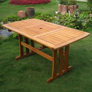 International Caravan Royal Tahiti 59-inch Dining Table
