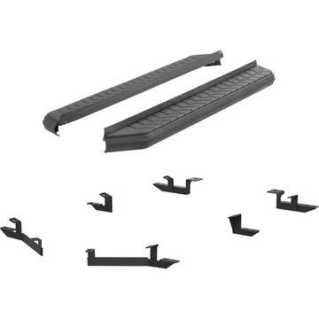 ARS2061036 Aries Running Boards, aluminum aries aerotread powdercoated black