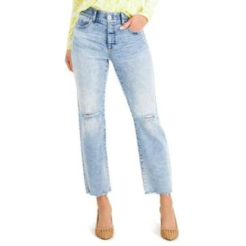Inc International Concepts Sculpting-Fit Straight-Leg Jeans, Created for Macy's