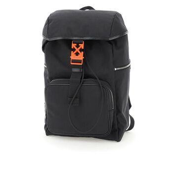 Off-white arrow nylon backpack